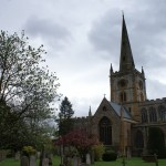 Holy Trinity church in Stratford upon Avon where Shakespeare's grave is located