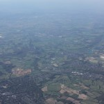 Landing at London's Heathrow airport
