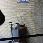 Platform 9 3/4 from the Harry Potter series