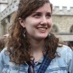 Becca at Westminster Abbey