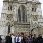Music group at Westminster Abbey
