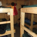 Students will stay in the bunk house until they are ready to hit the water.