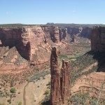 The majestic Spider Rock formation. WOW!