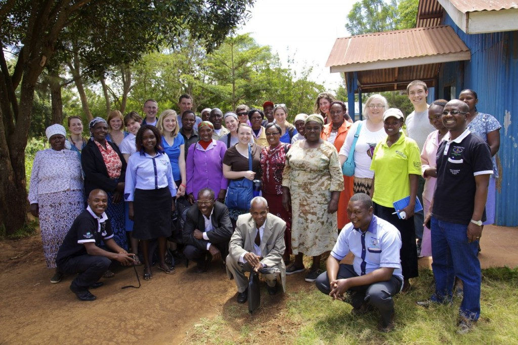 Our Goshen group w/ FRB & the Community leaders in Ndeiya