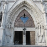 One of many entrances to the largest neo-gothic structure in the Americas
