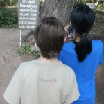 Mia and Simon at the Killing Fields