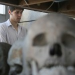 Phil and skulls, Killing Fields
