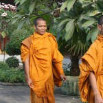 Buddhist monks, National Palace