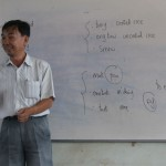 Sok Meng teaching