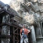 Ann at Angkor Wat