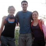 Annalisa, Jake, and Kelly in Kampong Chhnang