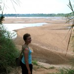 Corinne in Kampong Cham