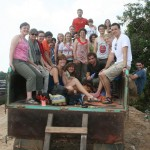 Group Photo in Dump Truck