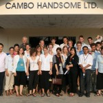 Group photo at Cambo Handsome