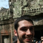 Jake at Ta Prohm