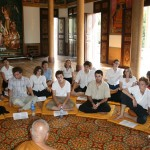 Lecture at Wat Langka