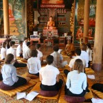 Meditation at Wat Langka