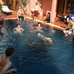 Pool time in Siem Reap