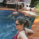 Poolside in Siem Reap