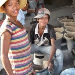 Pottery-making in Kampong Chhnang