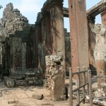 Temple ruins at Angkor Wat