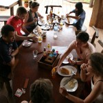 Breakfast at Tree Top Ecolodge