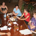 Dinner at Tree Top Ecolodge