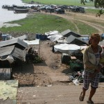 Squatters' village in Prey Veng