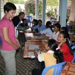 Teaching English at Sangkhem