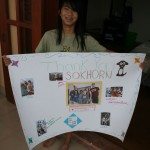 Mia with Sokhorn's Sign