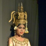 Apsara dancing was featured at the Sovanna Phum event.