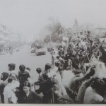Initially, Phnom Penh residents welcomed the Khmer Rouge when they came to Phnom Penh, with the hope their coup would bring a better government than Lon Nol's.