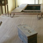 Instruments of torture at Tuol Sleng.