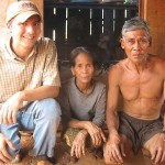Dustin's parents, who were part of the Kreung indigenous group, in Spring 2007.