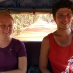 Heading into Siem Reap with Joel and Audrey