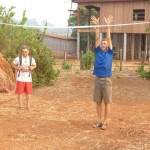 Seth's Volleyball Court