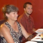 Dinner with the Graber Millers at Yumi, a local Japanese restaurant