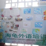 Entrance to Peace in China/Sea Turtle Language offices, Nanchong