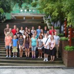 The SST group in Chengdu.