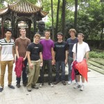 SSTers visiting Sichuan University campus, Tuesday, September 1.