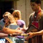 New Goshen College student receives his iPad