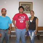 Jair & Host Family (father & sister from Dominican Republic)