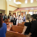 First Communion Children Entering Church