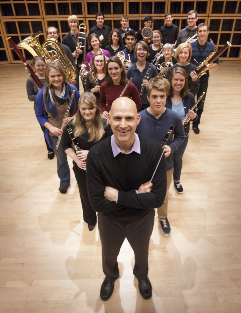 Dr. Christopher Fashun will direct the new GC All-Campus Band, debuting in the fall of 2014.