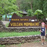 Our first destination: the Volcano Mombacho