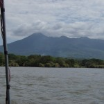 View of Mombacho from Lake Cocibolca / Nicaragua