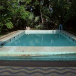 Swimming Pool at Jubilee House, left over from times when this area was used as a hacienda by the Somosa family.