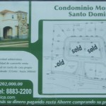 Advertisement for a weathy, gated community. Per capita GDP is around US$800.