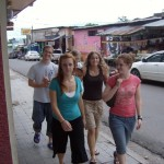 Wandering around Estelí before heading to the reserve for lunch.