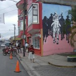 Mural in downtown Estelí.